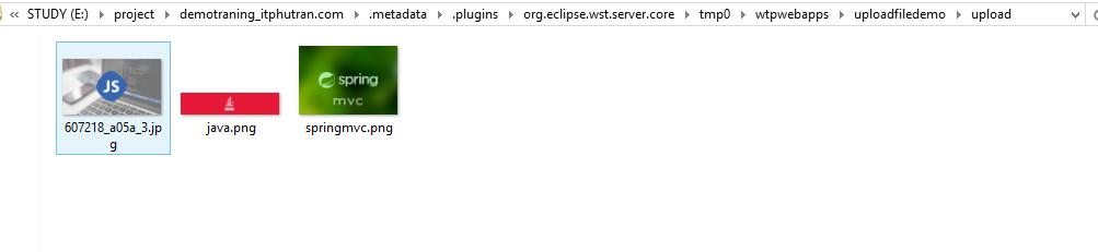 Hướng dẫn upload file trong java spring mvc - itphutran com