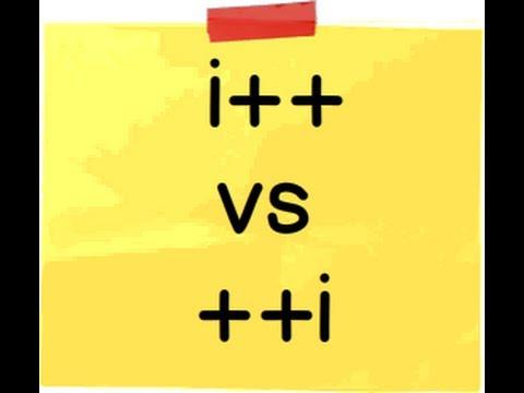 Sự khác biệt là gì giữa i ++ và ++ i trong vòng lặp (Java) ?
