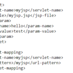 Cấu hình file jsp trong web.xml
