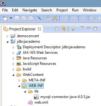 Kết nối cơ sở dữ liệu mysql với jdbc trong java dùng eclipse