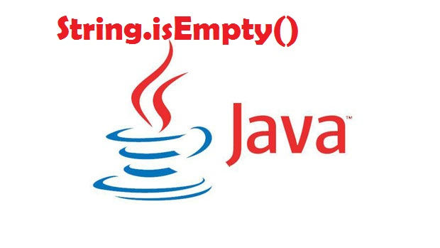 String.isEmpty() trong Java