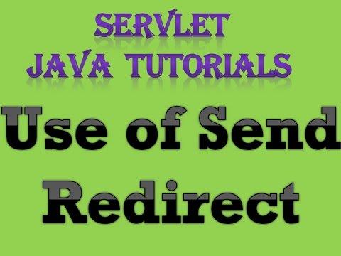 Chuyển hướng SendRedirect() trong Java