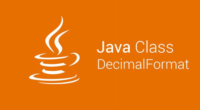 DecimalFormat trong Java