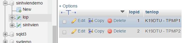 INSERT - Thêm một hoặc nhiều dòng dữ liệu trong MySQLINSERT - Thêm một hoặc nhiều dòng dữ liệu trong MySQL