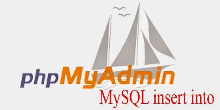 câu lệnh truy vấn insert trong mysql
