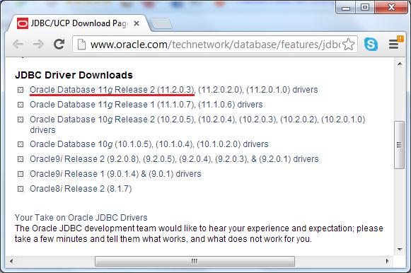 download oracle jdbc driver