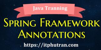 spring-framework-annotations