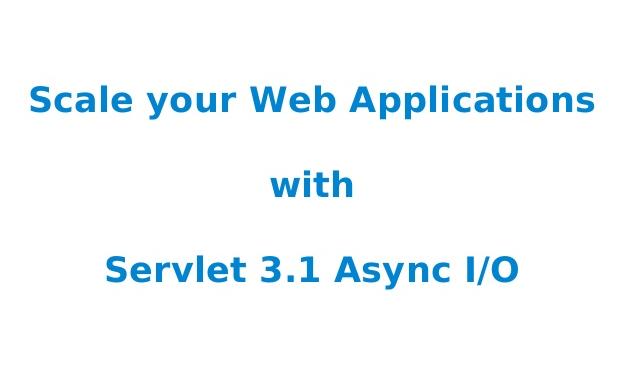 web servlet 3.1
